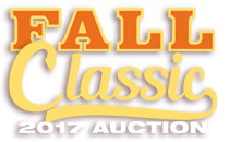 2017 Fall Classic Auction
