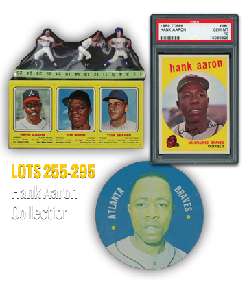 Hank Aaron Collection