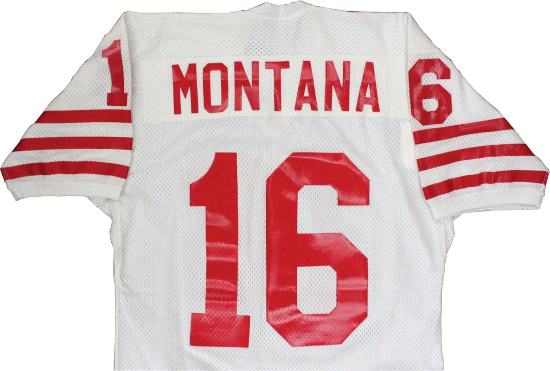 Magnificent Joe Montana 1979 80 Rookie Era San