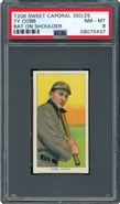 1909 T206 Ty Cobb Bat on Shoulder PSA 8