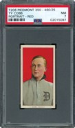 1909 T206 Ty Cobb Red Portrait PSA 7