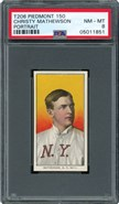 1909 T206 Christy Mathewson Portrait PSA 8