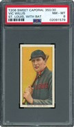 1909 T206 Vic Willis with Bat St. Louis PSA 8