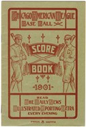 Extremely Rare 1901 Chicago White Sox Program