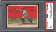 1914 Cracker Jack Christy Mathewson PSA 1