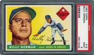 1955 Topps Billy Herman PSA 9
