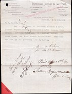 John Montgomery Ward Auto Document