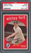1959 Topps #430 Whitey Ford PSA 10