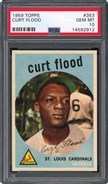 1959 Topps #353 Curt Flood PSA 10
