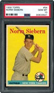 1958 Topps #54 Siebern PSA 10