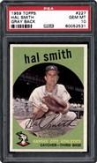 1959 Topps #227 Smith PSA 10
