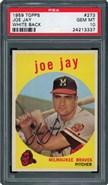 1959 Topps #273 Jay PSA 10