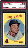 1959 Topps #456 Casale PSA 10