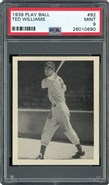 1939 Playball #92 Ted Williams Rookie PSA 9 MINT