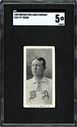 1903 E107 Breisch Williams Cy Young SGC 5