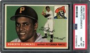 1955 Topps #164 Roberto Clemente Rookie PSA 8