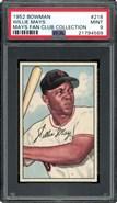 1952 Bowman #218 Willie Mays PSA 9