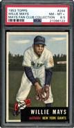 1953 Topps #244 Willie Mays PSA 8.5