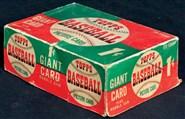 1952 Topps Baseball Empty Wax Box