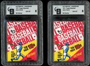 1Group of 2-1971 Topps Baseball 6th Series Wax Packs