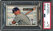 1951 Bowman Mickey Mantle Rookie PSA 8 NM-MT