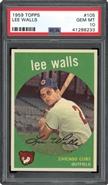 1959 Topps Lee Walls PSA 10 GEM MINT