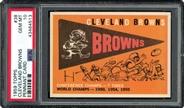 1959 Topps Cleveland Browns Team PSA 10 GEM MINT