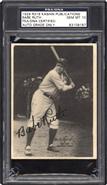 1929 Kashin Babe Ruth Autographed PSA 10 GEM MINT
