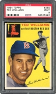 1Topps #250 Ted Williams PSA 9 MINT