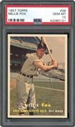1957 Topps Nellie Fox PSA 10 GEM MINT