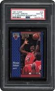 1991 Fleer Michael Jordan 3-D PSA 10 GEM MINT