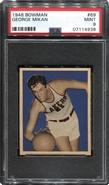 1948 Bowman George Mikan Rookie PSA 9 MINT