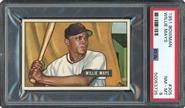 1951 Bowman Willie Mays Rookie PSA 8 NM-MT