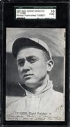 1907 Wolverine Postcard Ty Cobb Rookie SGC 1