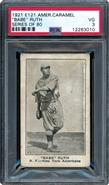 1921 E121 American Caramel Babe Ruth PSA 3