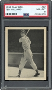 1939 Play Ball Ted Williams Rookie PSA 8 NM-MT