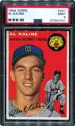 1954 Topps Al Kaline Rookie PSA 9 MINT