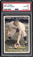 1957 Topps Pee Wee Reese PSA 10 GEM MINT