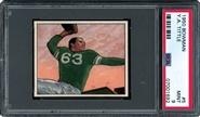 1950 Bowman Football #5 Y.A. Tittle Rookie Card PSA MINT 9