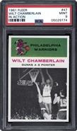 1961 Fleer Wilt Chamberlain IA PSA 9 MINT