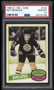 1980 O-Pee-Chee Ray Bourque Rookie PSA 10 GEM MINT